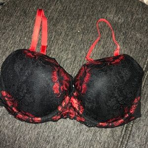 Adore Me Black Lollipop Bra